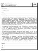 Form 5237 - Offer In Compromise Waiver