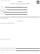 Form Rv-f1403701 - Agreement Property Valued For Special Use Purpose