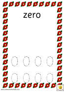 Flower Pots Number Formation Template