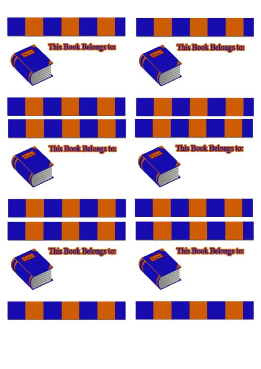Book Bookplates