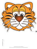 Tiger Mask Template