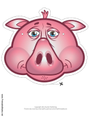 Pig Mask Template