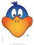 Bird Mask Template