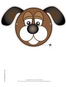Dog Mask Template