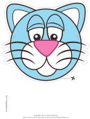 Cat Mask Template