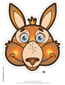 Kangaroo Mask Template