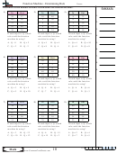 Function Machine - Determining Rule - Function Worksheet With Answers