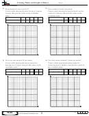 Creating Tables And Graphs Of Ratios - Ratio Worksheet With Answers