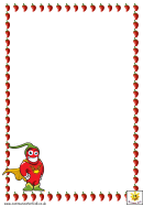Chilli Pepper Character Paper