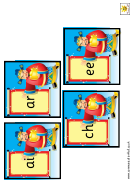 Chinese Emperor Phonic Cards Classroom Border Templates
