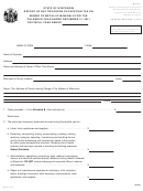 Form Mt-001 - Report Of Net Proceeds Occupation Tax On Mining Of Metallic Minerals - Wisconsin Department Of Revenue