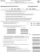 Form Wv/fiia-tcs - Schedule Fiia-tcs West Virginia Film Industry Investment Tax Credit
