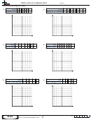 Charts With A Coordinate Grid - Coordinate Worksheet With Answers