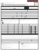Form 5422 - Missouri Tobacco Directory - Supplemental Cigarette And Roll Your Own (ryo) Packaging Change Notification