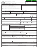 Form 5062 - Application For Vehicle/trailer Identification Number Plate Or Verification