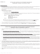 Form R-1a - Initial Declaration Of Estimated Insurance Premiums License Tax