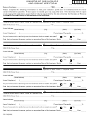 Form Cr-18 - Ownership Disclosure And Signature Form