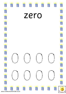 Firework Number Formation Cards Template
