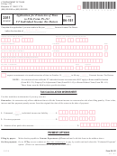 Form In-151 - Application For Extension Of Time To File Form In-111 - Vt Individual Income Tax Return - 2011