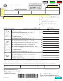 Form Ex-012a - Local Exposition Tax Return For Annual Filers - Wisconsin Department Of Revenue