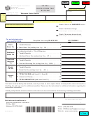 Form Ex-012p - Local Exposition Tax Return - Wisconsin Department Of Revenue