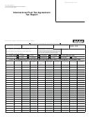 Form Dr 0122 - International Fuel Tax Agreement Tax Report