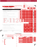 Form F-1120 - Florida Corporate Income/franchise And Emergency Excise Tax Return - 2002