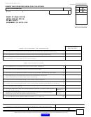 Form Boe-501-db - Exempt Bus Operator Diesel Fuel Tax Return
