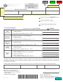Form Ex-012 - Local Exposition Tax Return - Wisconsin Department Of Revenue