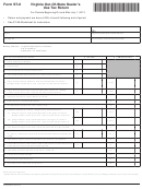 Form St-8 - Virginia Out-of-state Dealer's Use Tax Return