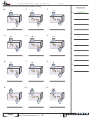 Function Machines (add And Subtract) - Function Worksheet With Answers