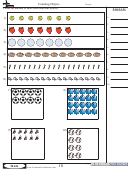 Counting Objects - Math Worksheet With Answers
