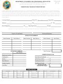 Dbpr Form Ab&t - Vendor's Malt Manufacturing Return