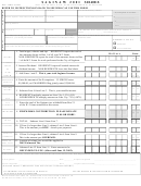 Form S1040ez - City Of Saginaw Income Tax - 2001