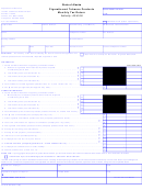 Form 04-522 - Cigarette And Tobacco Products Monthly Tax Return -state Of Alaska - 2000