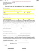 Form Mv-004 - Affidavit Of Declaration For A Manufactured Home Placed On Real Estate