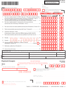 Form Dr-700016 - Florida Communications Services Tax Return