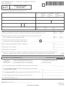 Vt Form Bi-47 - Business Income Tax Return