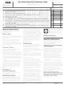 Form 8896 - Low Sulfur Diesel Fuel Production Credit