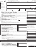Form It-205 - Fiduciary Income Tax Return - 2013