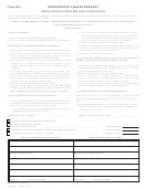 Form R-3 - Registration Change Request