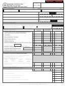 Form Mo-1120x - Amended Corporation Income Tax Return - For Tax Years 1992 And Prior