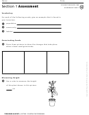 Terrarium Habitats Assessment Sheet