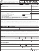 Form Mo-8453 - Individual Income Tax Declaration For Internet Or Electronic Filing - 2012