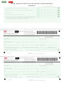 Form Fr-128 - Extension Of Time To File A Dc Franchise Or Partnership Return Worksheet - 2011