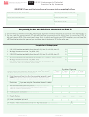Form D-2220 - Underpayment Of Estimated Franchise Tax By Businesses - 2011