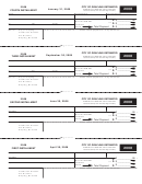 City Of Grayling Estimated Individual Income Tax Voucher - 2008