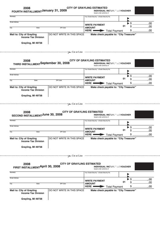 kansas estimated income tax vouchers