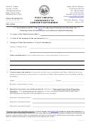 Form Lp-3 - West Virginia Amendment To Limited Partnership- West Virginia Secretary Of State