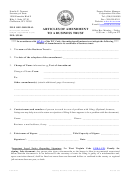 Form Bt-2 - Articles Of Amendment To A Business Trust - West Virginia Secretary Of State
